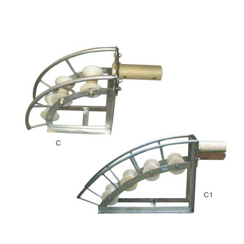 C, C1 series cable entrance protection roller