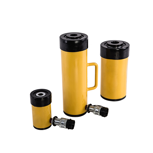 RCH series of single-acting hollow hydraulic cylinder