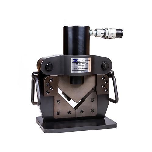 Hydraulic angle steel cutting tool SAC-75