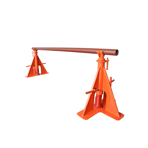 Adjustable hydraulic cable drum stand SBT-3A