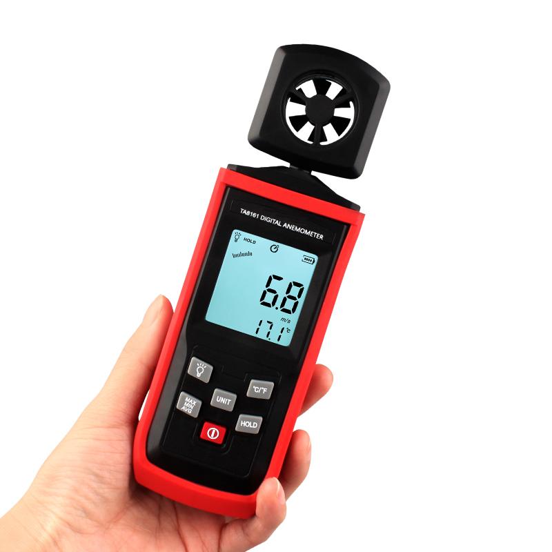 TA8161 Portable Handheld Wind Speed Sensor Digital Anemometer Data Logger Price
