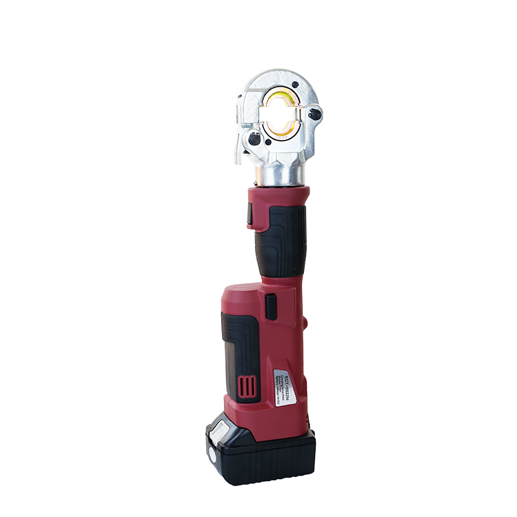 ECT-6022M Mini Intelligent Style Straight Battery Hydraulic Cable Lug Crimping Tools