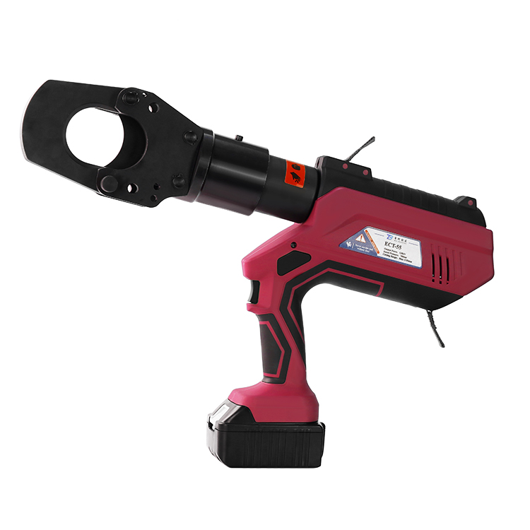 ECT-55 Intelligent LCD 12T Portable Battery Powered Hydraulic Cutting tool