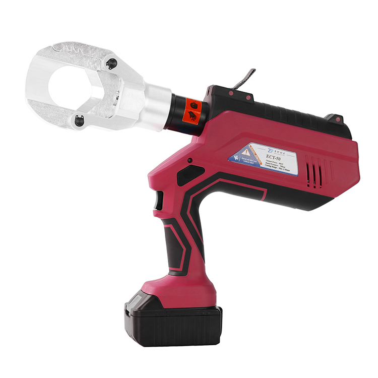ECT-50 Intelligent LCD 6T New Hydraulic Cutting Tool Electric Wire Cutter Factory China