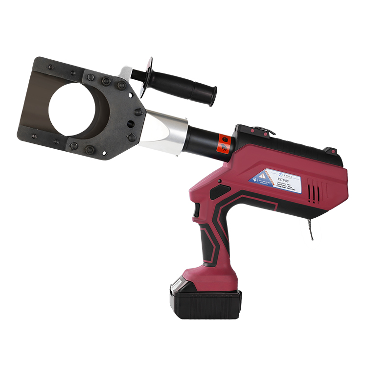 ECT-85 Intelligent LCD 6T New Battery Hydraulic Cable Cutting Tool 85mm