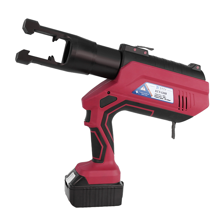 ECT-120H Intelligent LCD Battery Connector Cordless Uniform Force Electric Crimping Tool