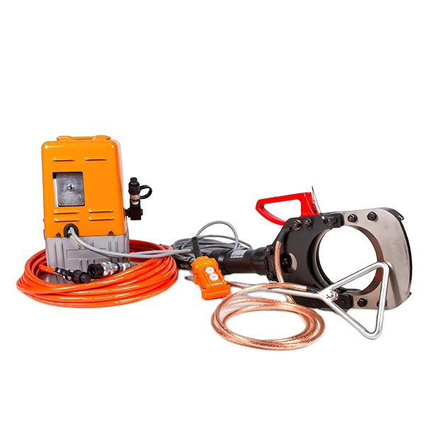 ESIC-132-35KV Insulated Hydraulic Cutting Tool For Armored Cable With Wireless Remote Control