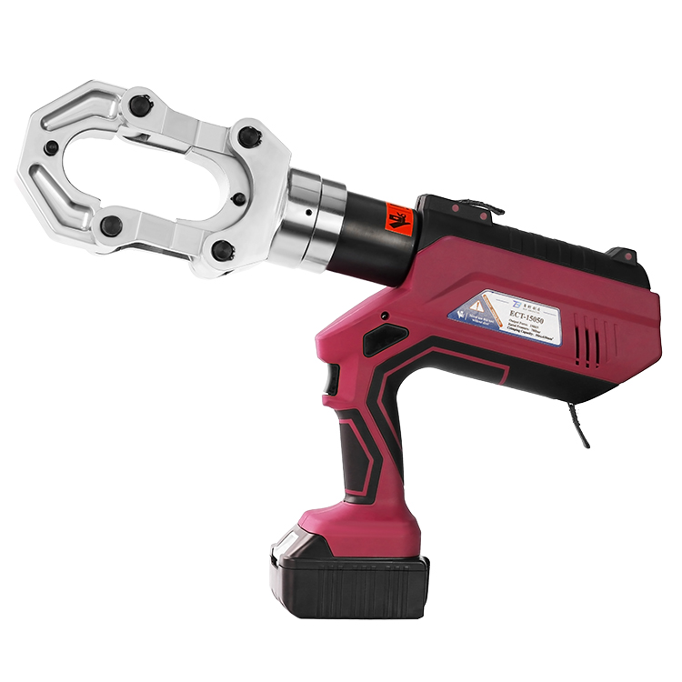 ECT-15050 Intelligent LCD Battery Connector Copper Cordless Electric Crimping Tool Big Jaw