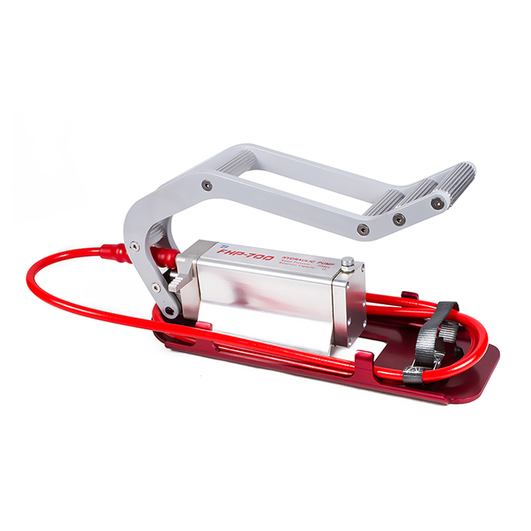 FHP-700 700bar High Pressure Foot And Hand Operated Hydraulic Pump 8.6kgs