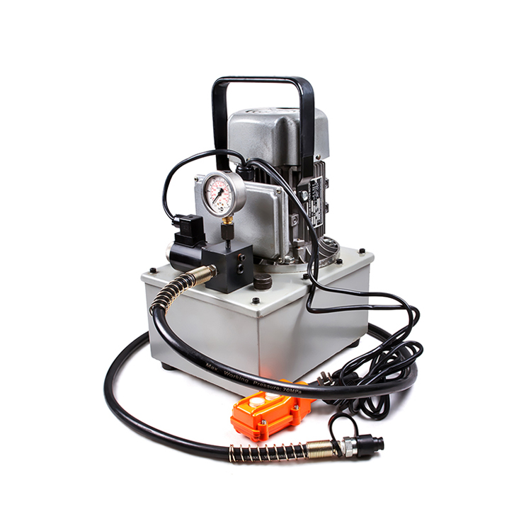 REP-1 70Mpa Powerful Hydraulic Small Electric Oil Pump With 2-Meter Remote Control