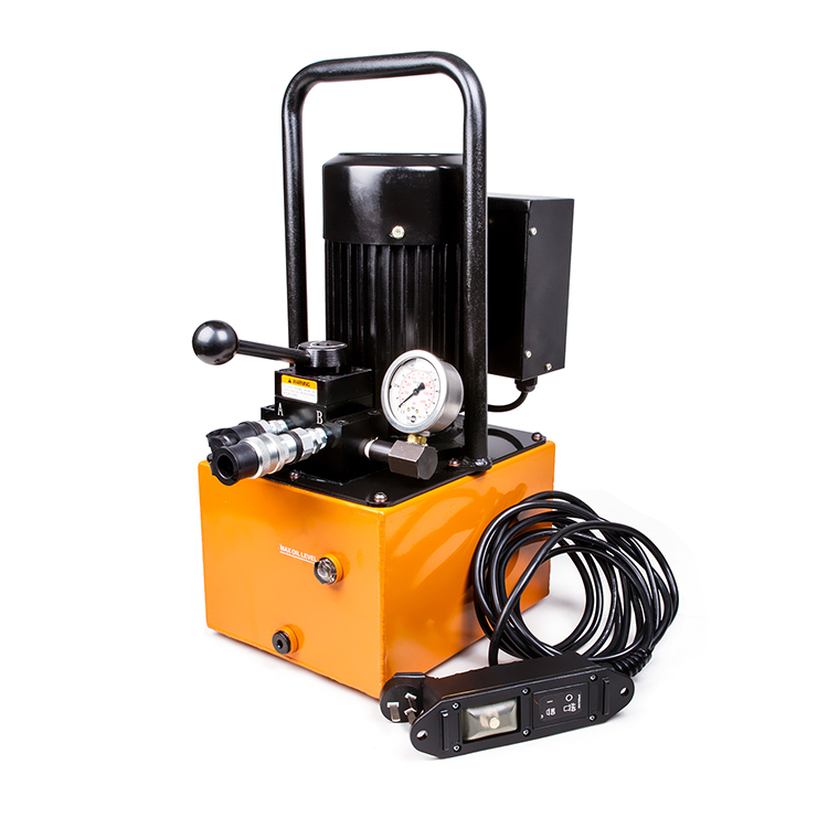 REP-2D Double Action 700bar Portable Oil Electric Hydraulic Pump