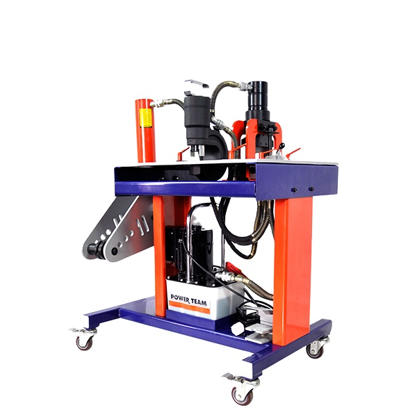 OK-SERIES Multifunction Safety Low Noise Hydraulic Busbar Cutting Punching Bending Machine