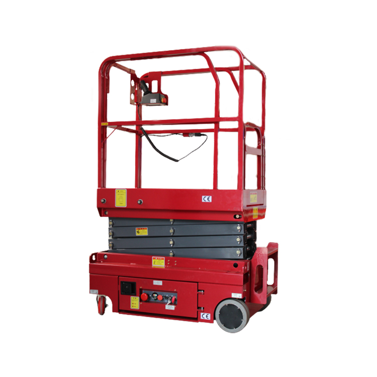 JCPT Series 3m 4m Electric Dc Battery Powered Mini Self Propelled Aerial Working Scissor Lift Platform For Sale
